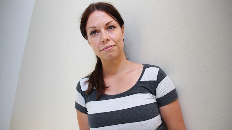 Lina Bengtsdotter. Foto: Lars-Gunnar Olsson/Sveriges Radio.