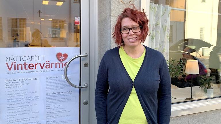 Marie Björklind. Foto: Felix Hall/Sveriges Radio.