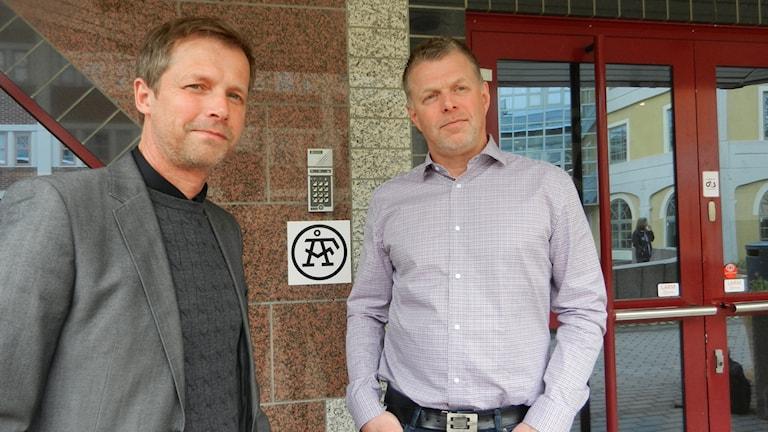 Compares vd Magnus Bården i samspråk med ÅFs Per Anders Kvarnevik.