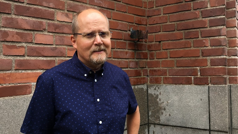 Jan-Inge Östby. Foto: Gustav Jacobson/Sveriges Radio.