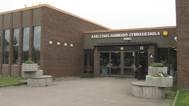 Nobelgymnasiet i Karlstad. Foto: Magnus Hermansson/Sveriges Radio.
