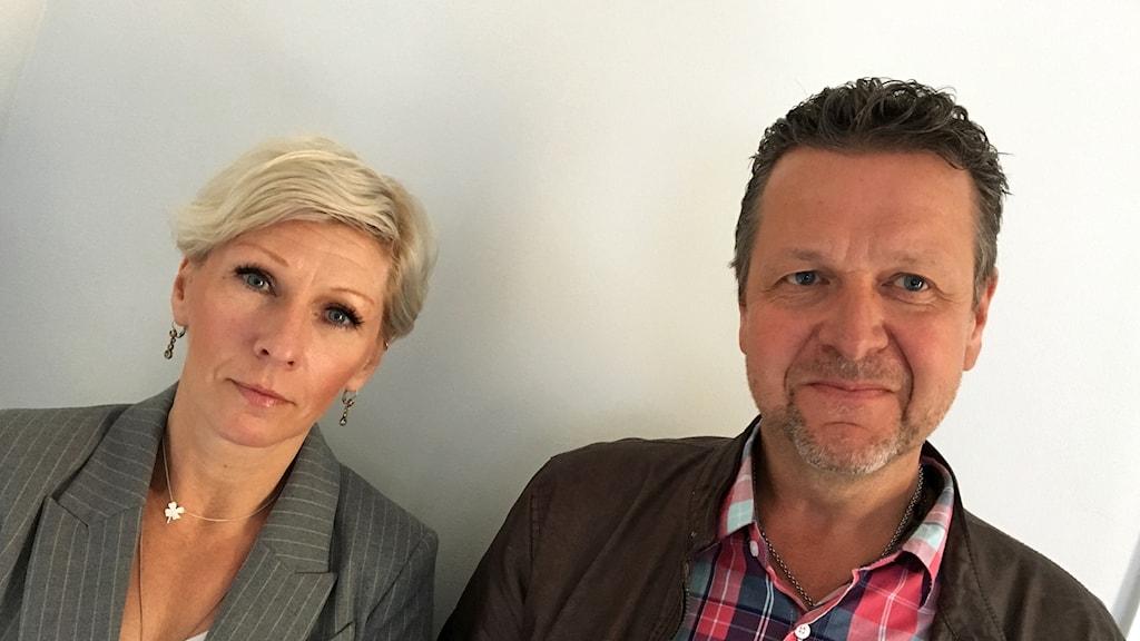 Karin Haster och Leif Haraldsson (S).
