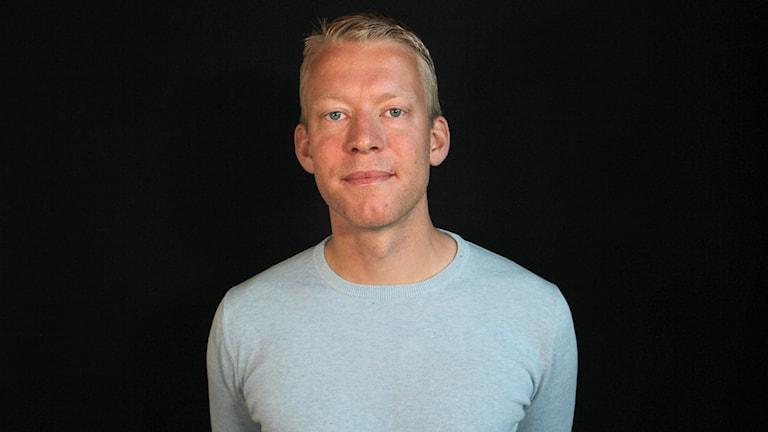 Andreas Otto. Foto: Lars-Gunnar Olsson/Sveriges Radio.