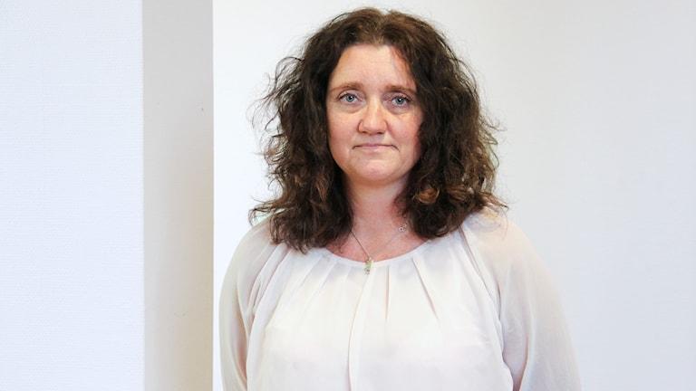 Pernille K Andersson. Foto: Lars-Gunnar Olsson/Sveriges Radio.