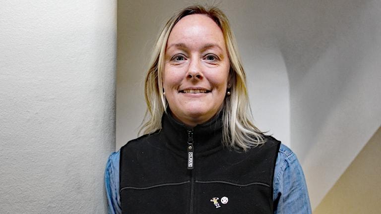 Jenny Salomonsson. Foto: Lars-Gunnar Olsson/Sveriges Radio.