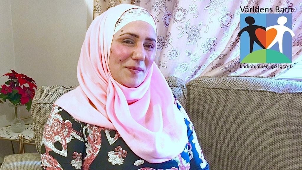 Faten Idris. Foto: Malin Björk/Sveriges Radio.