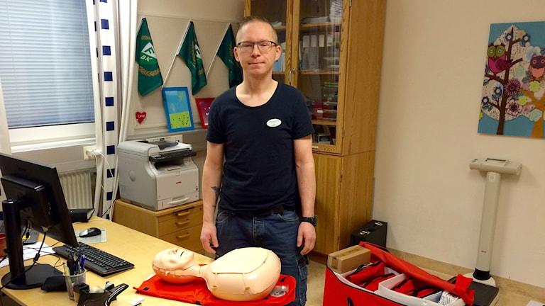 Tommy de la Rosée. Foto: Felix Hall/Sveriges Radio.