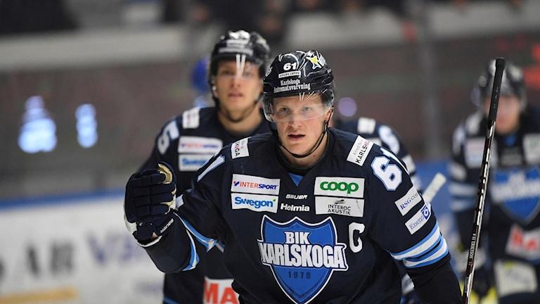 BIK Karlskogas Mikael Eriksson.