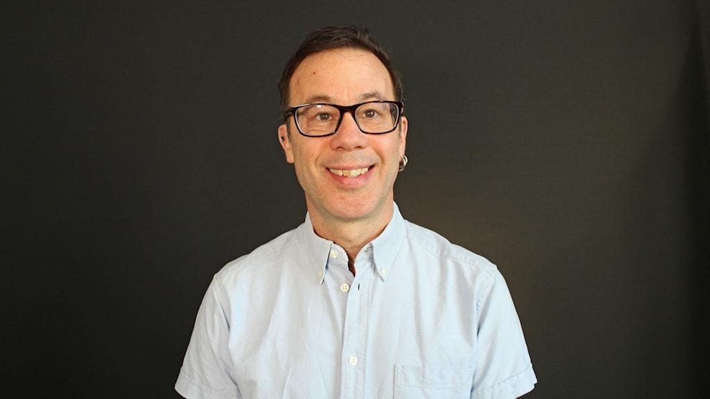 Erik Wästlund/projektledare och docent i psykologi. Foto: Björn Söderholm/ Sveriges Radio