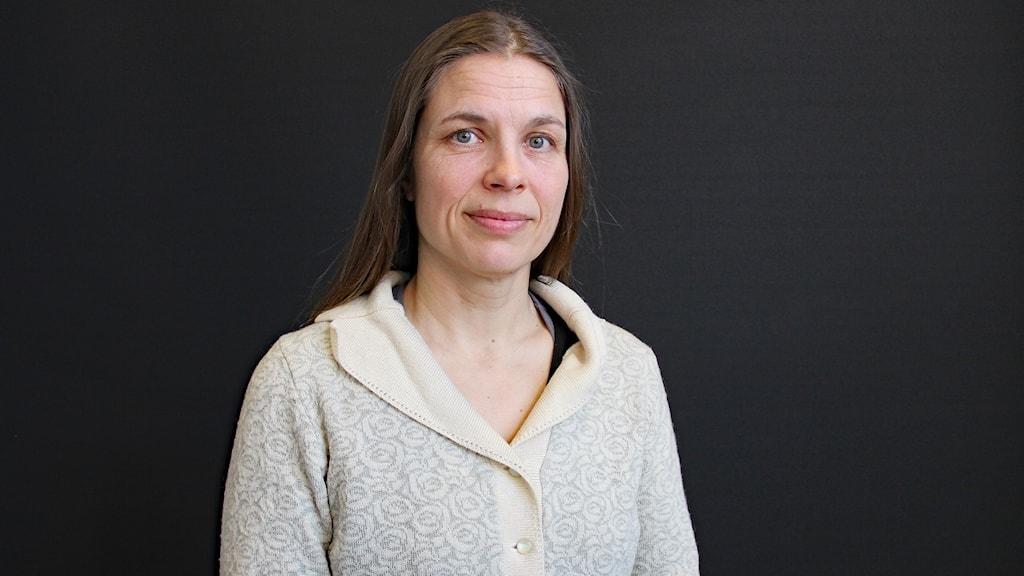 Karolina Petrov Fieril. Foto: Lars-Gunnar Olsson/Sveriges Radio.