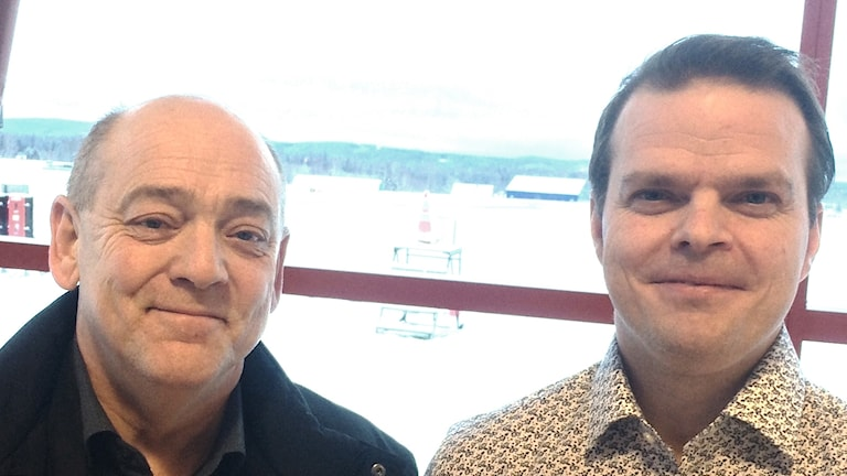 Thomas Stjerndorff och Martin Berglund. Foto: Sven Westerdahl/Sveriges Radio.
