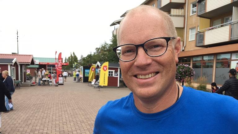 Mattias Joelsson. Foto: Magnus Hermansson/Sveriges Radio.