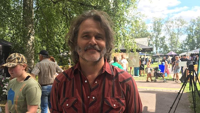 Erik Haag. Foto: Gustav Jacobson/Sveriges Radio.