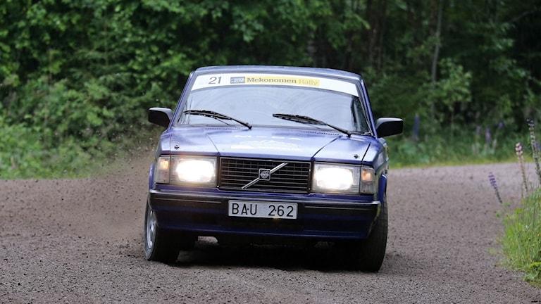 Rallybil Volvo