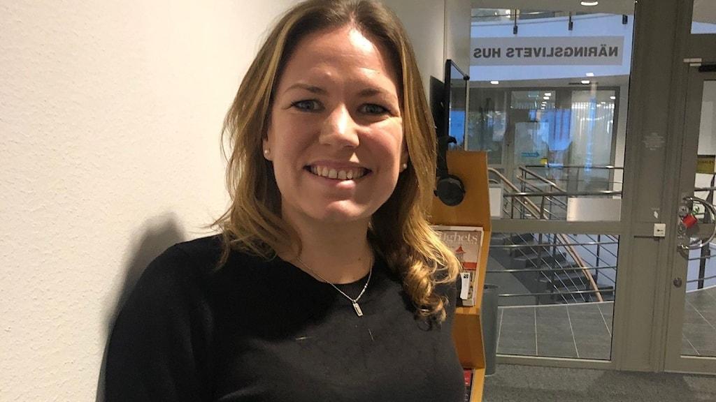 Cecilia Fjellman, verksamhetsledare Nyföretagarcentrum