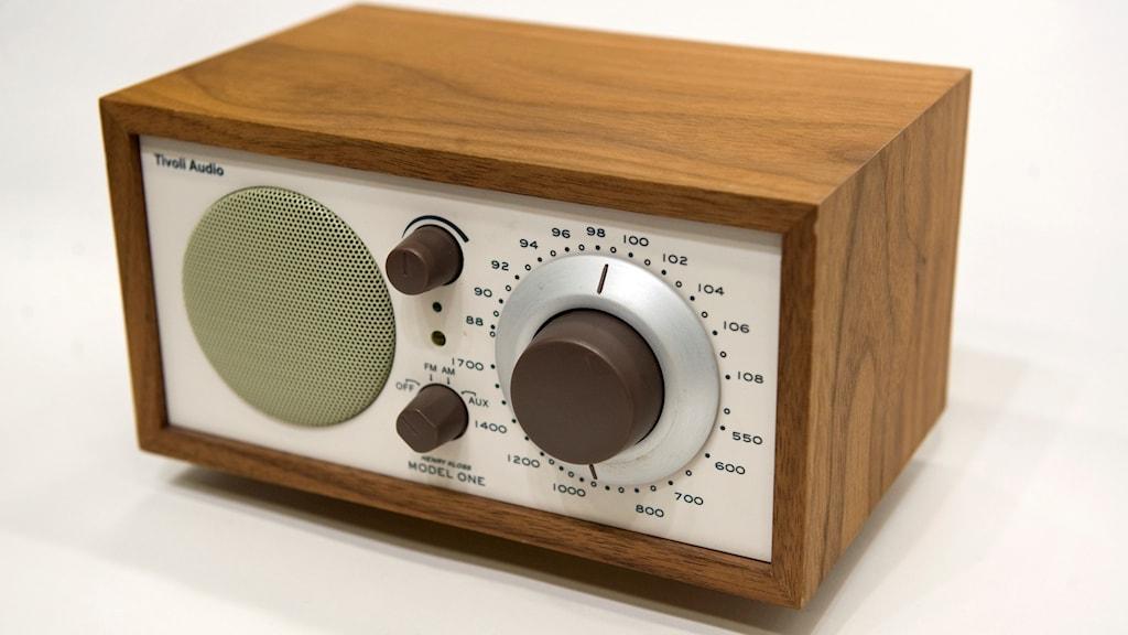 Radioapparat. Foto: Fredrik Sandberg/TT.