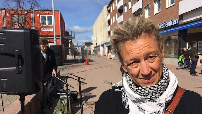 Ija Åkesdotter, initiativtagare till manifestationen