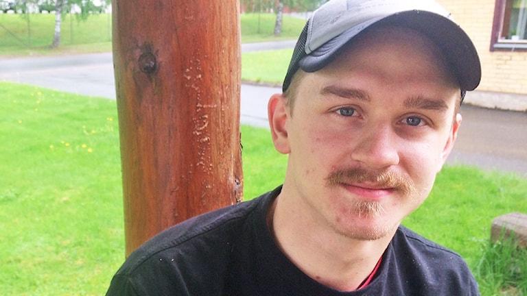 Simon Karlsson. Foto: Jenny Tibblin/Sveriges Radio.