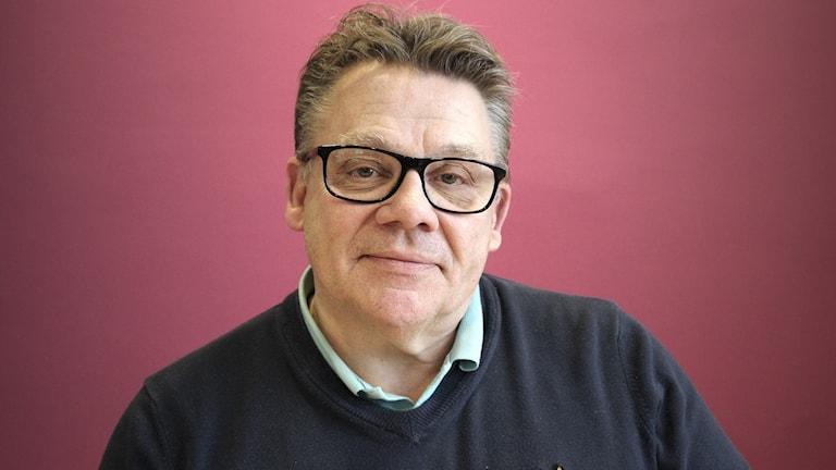 Björn Vestberg. Foto: Lars-Gunnar Olsson/Sveriges Radio.