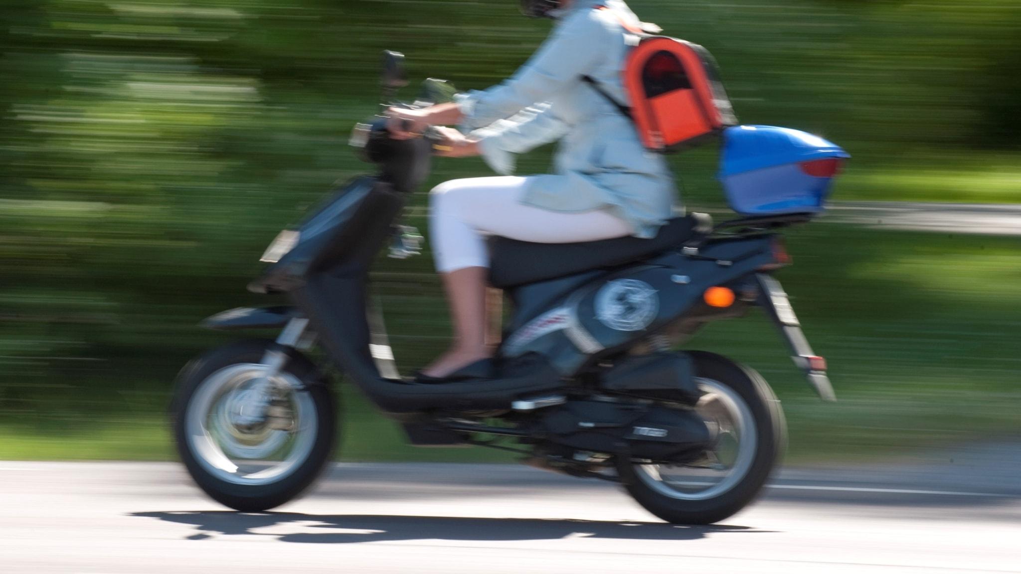 Mopeder saljs trimmade