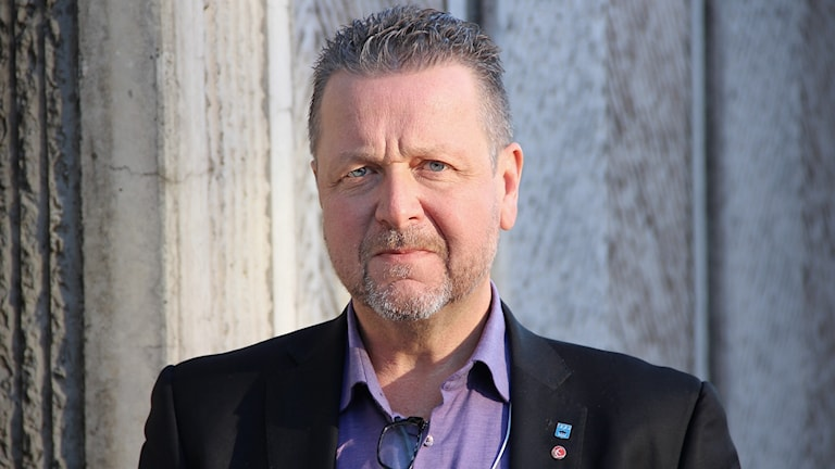 Leif Haraldsson (S). Foto: Lars-Gunnar Olsson/Sveriges Radio.