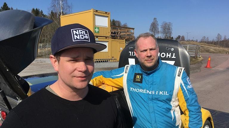 Peter Hedström och Daniel Thorén.
