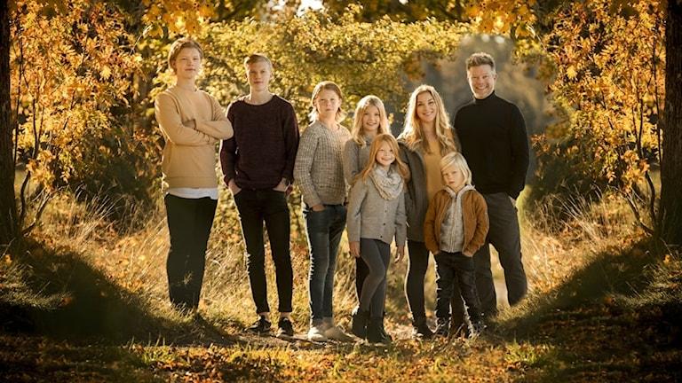 Linda Klemners familj