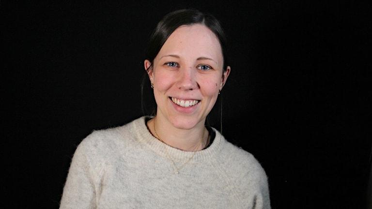 Sofie Lundmark. Foto: Lars-Gunnar Olsson/Sveriges Radio.
