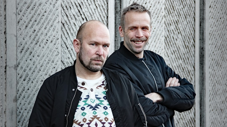 Björn A Ling och Johan Östling. Foto: Lars-Gunnar Olsson/Sveriges Radio.