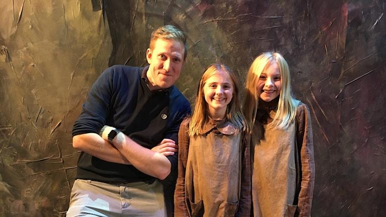 Tobias Norelius är producent för Annie. Klara Nordmarker och Felicia By delar på huvudrollen.
