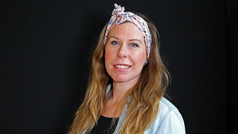 Carola Jansson föreläsare och lärare. Foto: Örjan Bengtzing/Sveriges Radio