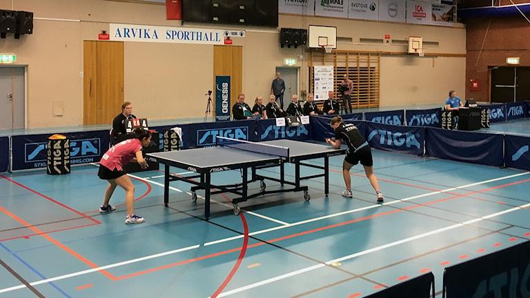 Storfors möter Arvika i kvartsfinalen i bordtennisslutspelet