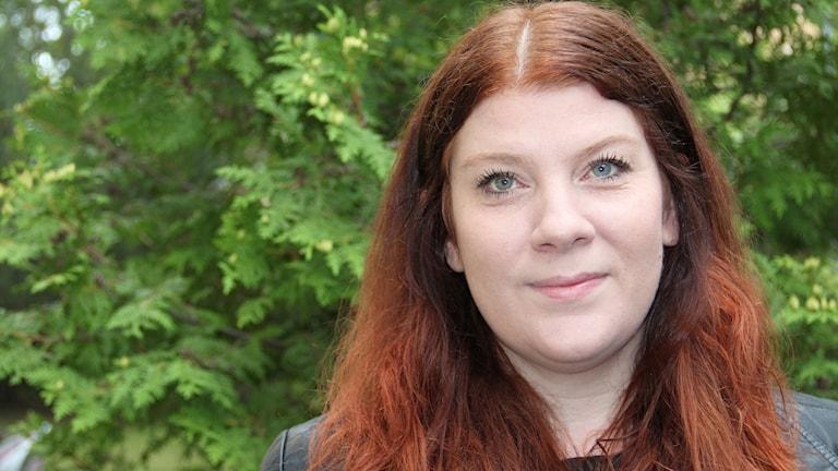 Anna Andersson Konstnär. Foto: Rebecka Kettil/Sveriges Radio
