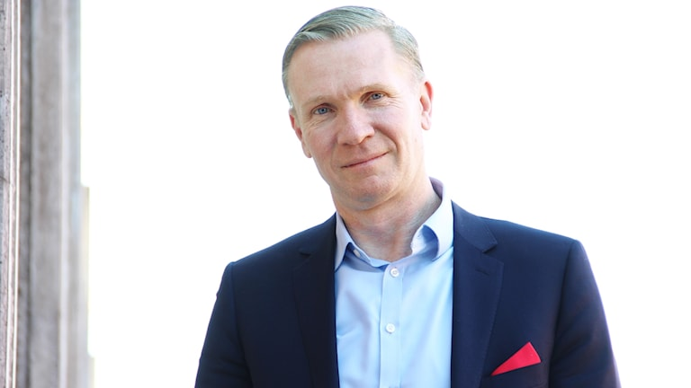 Mats Hedenström. Foto: Lars-Gunnar Olsson/Sveriges Radio.