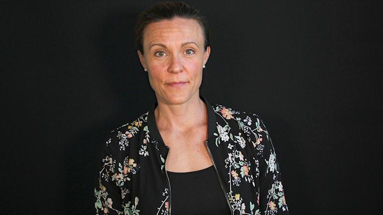 Frida Johansson. Foto: Lars-Gunnar Olsson/Sveriges Radio.