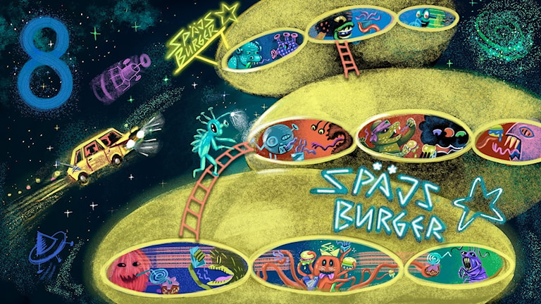 Biggest Bang, del 8: Späjs Burger. Bild: Anna Sandler
