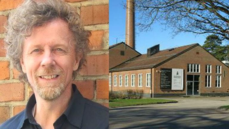 Andreas Brändström är chef för Krisnehamns konstmuseum