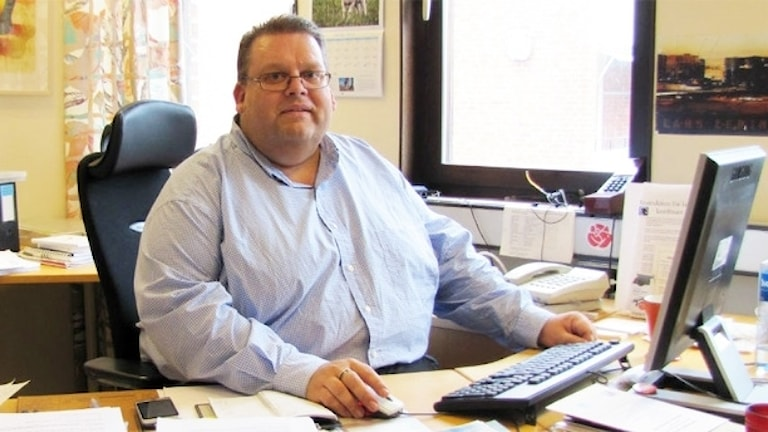 Björn-Olov Hallberg. Foto: Sveriges Radio.