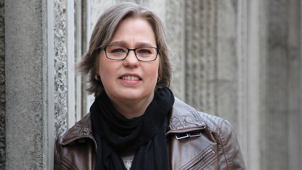 Anna Hedberg, regionchef Företagarna Värmland. Foto: Lars-Gunnar Olsson/Sveriges Radio.