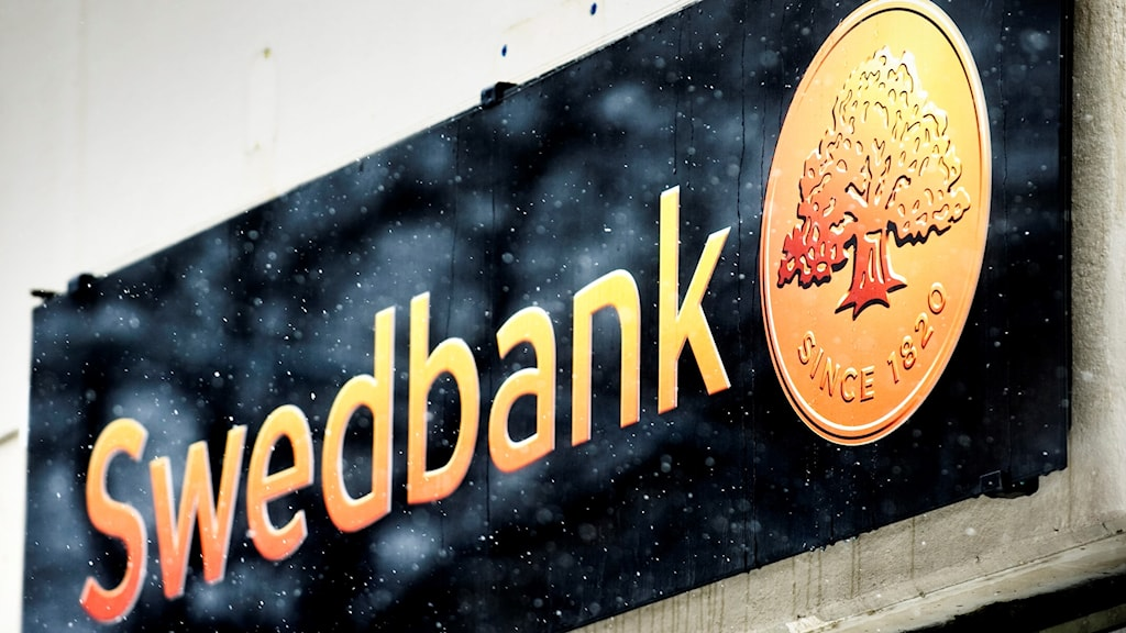 Swedbank-skylt.