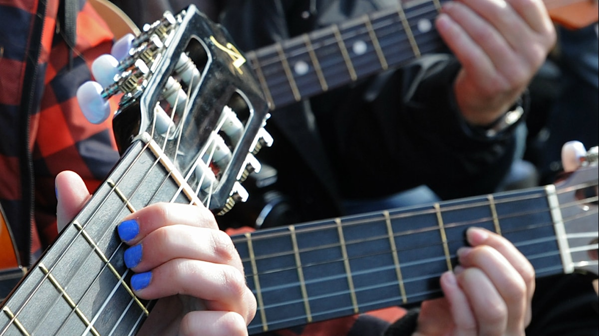 Gitarrer.