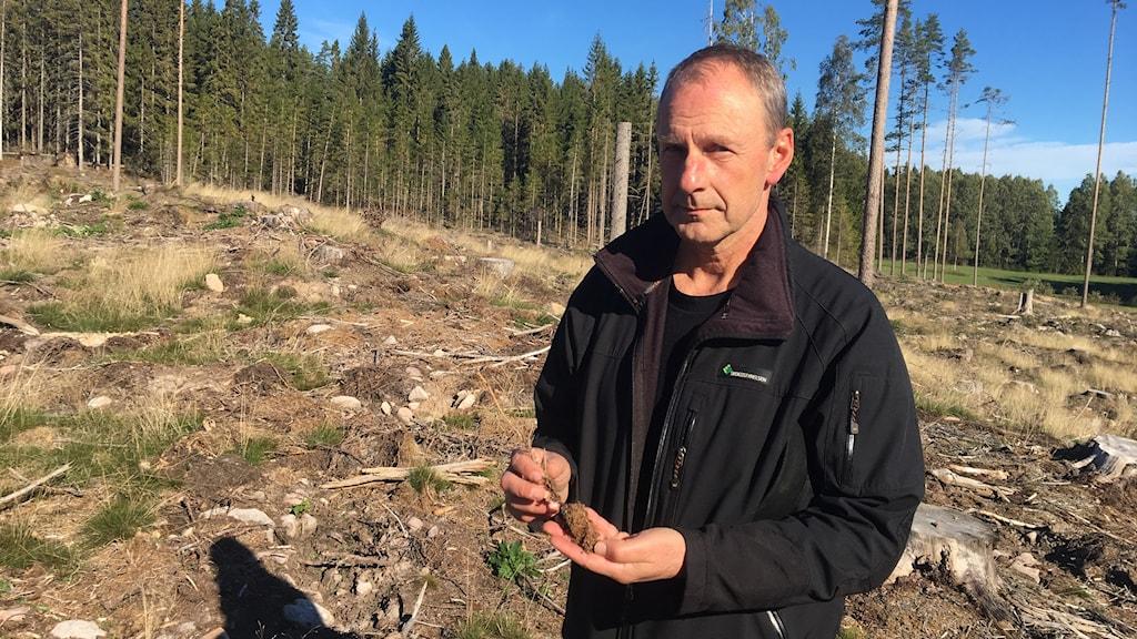 Alf Olofsson, skogskonsulent Skogsstyrelsen