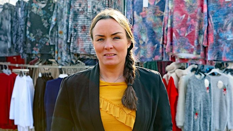 Linda Larsson Socialdemokraterna. Foto: Örjan Bengtzing/Sveriges Radio.