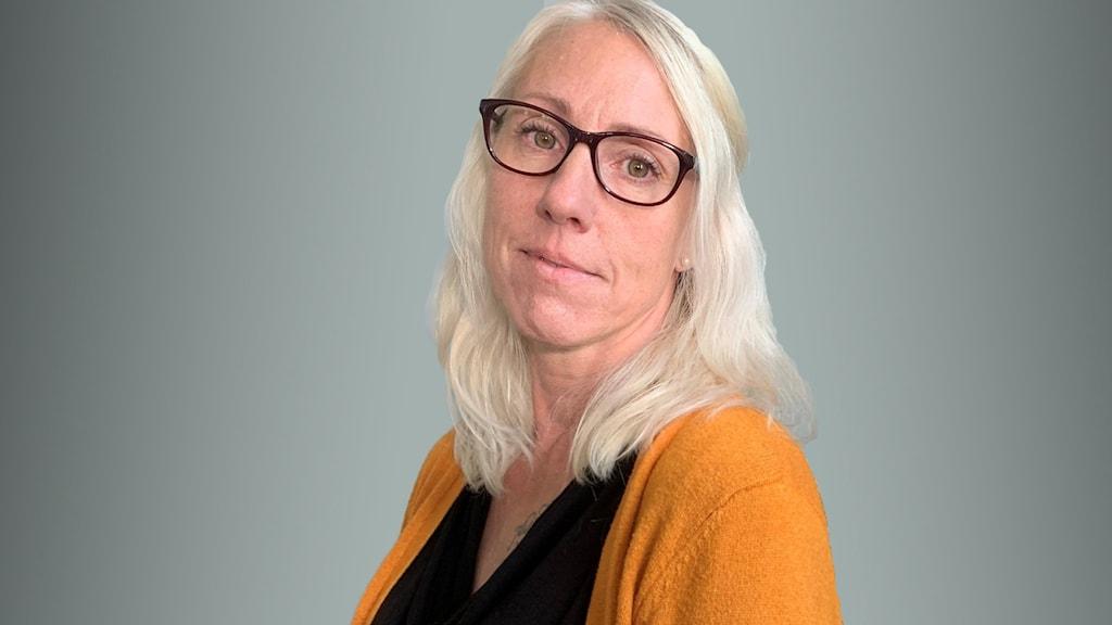 Anki Haraldsson. Foto: Marie Trygg/Sveriges Radio.