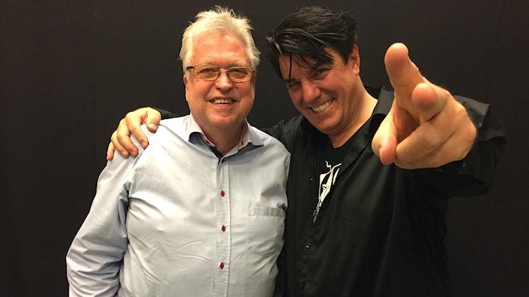 Erik Lihm och Kenneth Wahlberg i Nya Vikingarna