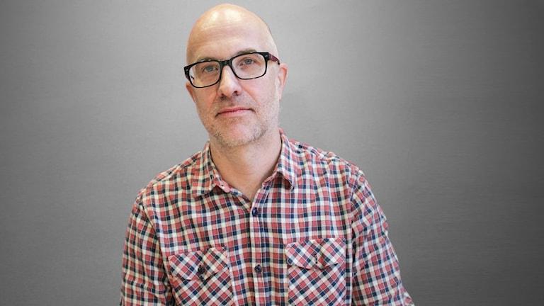 Martin Stolare, docent i historia vid Karlstads universitet. Foto: Lars-Gunnar Olsson/Sveriges Radio.