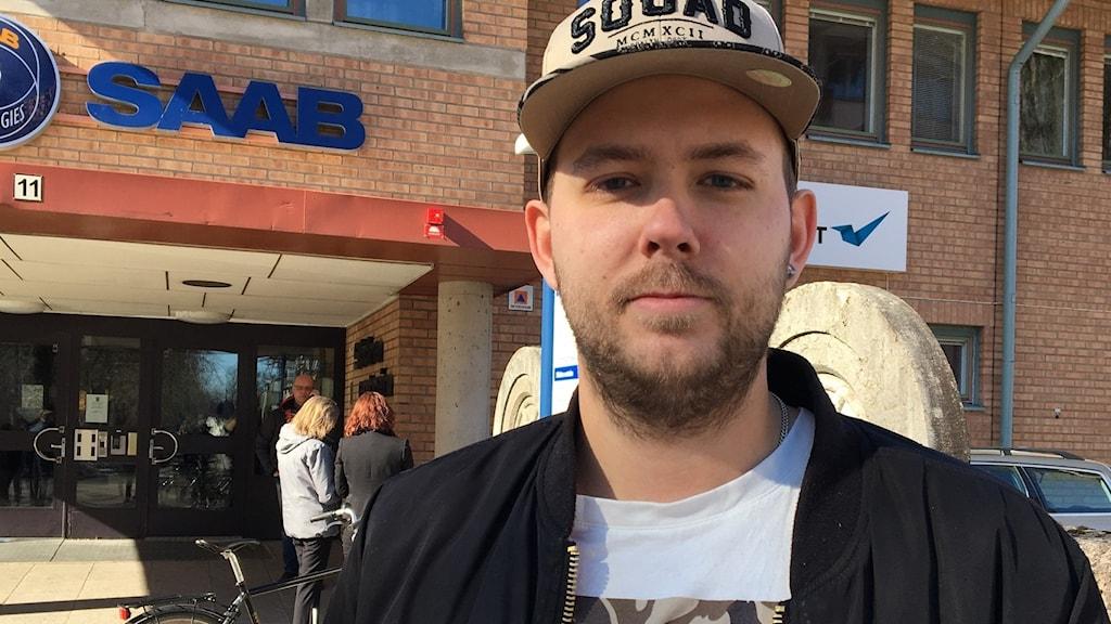 Christian Karlsson. Foto: Sara Johansson/Sveriges Radio.