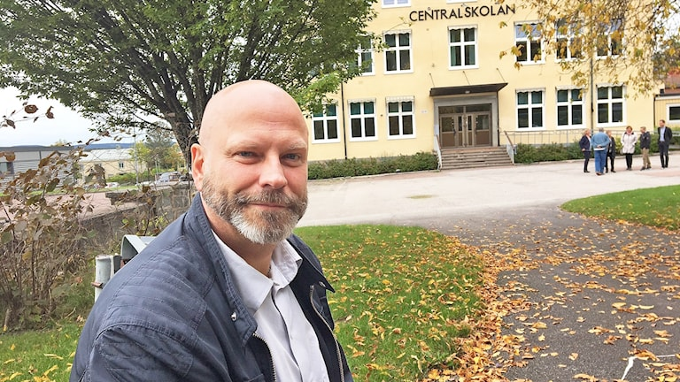 Christian Persman. Foto: Jenny Tibblin/Sveriges Radio.