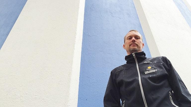 Per-Anders Bergman. Foto: Rebecka Kettil/Sveriges Radio.
