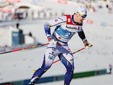 Anton Persson slogs ut i kvartsfinalen i VM-debuten